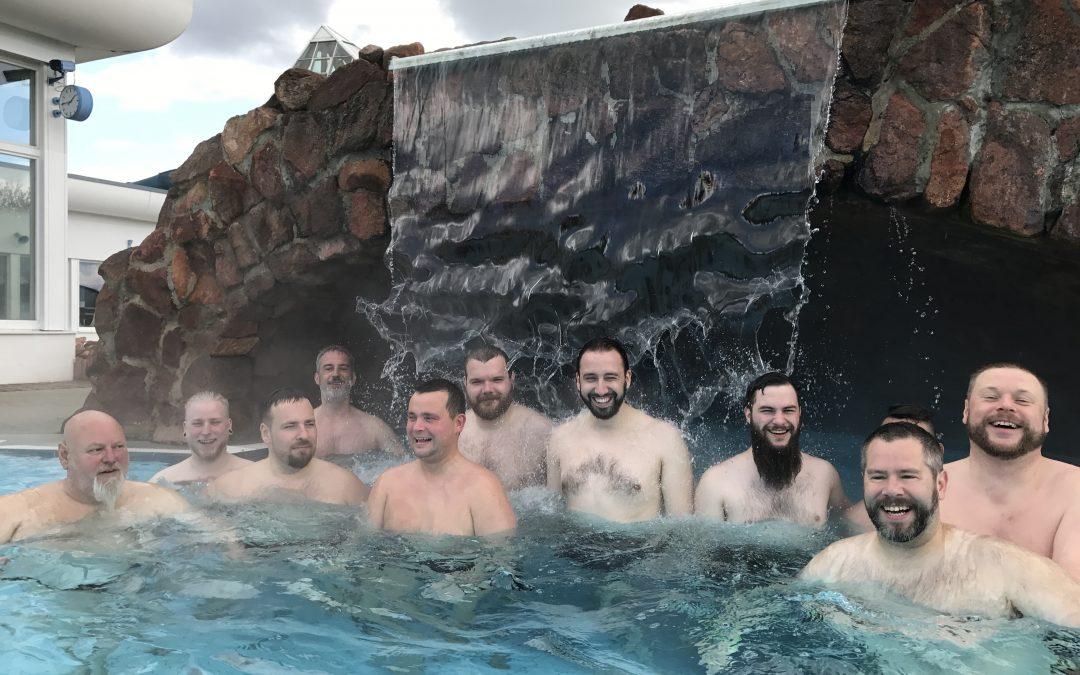 Bärenbaden in der Sachsen-Therme