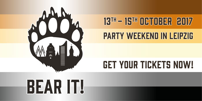 BEAR IT! - Get your tickets now!
