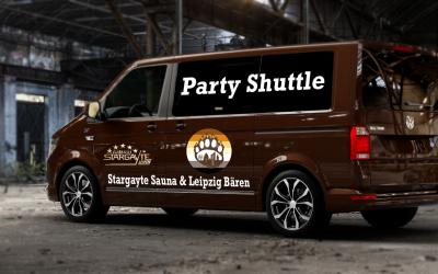 Mit dem Shuttle zur Bärenparty