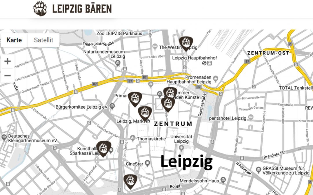 Veranstaltungskarte – Bear Weekend Map