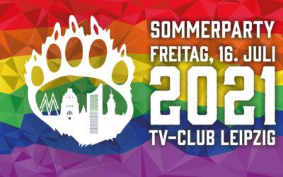 Es geht wieder los: Die Sommerparty der Leipzig Bären